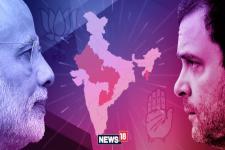 Exit Poll Results 2019 : NEWS18-IPSOS EXIT POLLৰ সমীক্ষাত উত্তৰ–পূবত কাৰ  কিমান আসন?