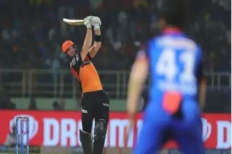 IPL 2019, SRH Vs DC: এলিমিনেটৰ মেচত দৰ্শনীয় ছিক্স, শূণ্যতে হেৰাই গ'ল বল!